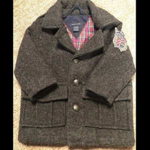 Tommy Hilfiger Baby Coat Gray Coat 3-6 months